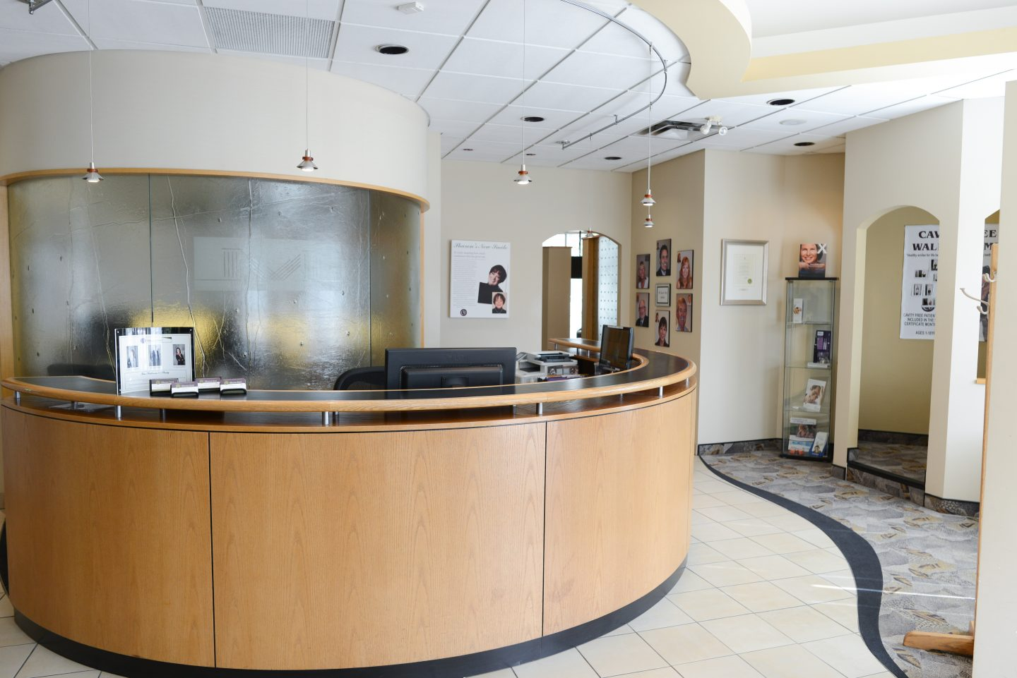 Millennium Dental Office Reception Area